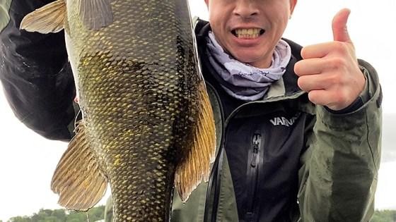Bass at Lake Nojiri