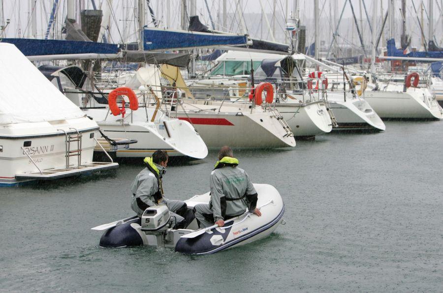 Φουσκωτή βάρκα honwave T 27 Honda marine