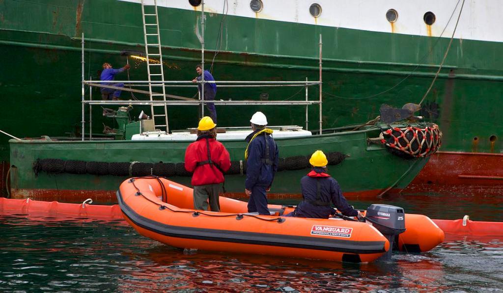solas 420 resque boat by vanguard marine σωστικό φουσκωτό