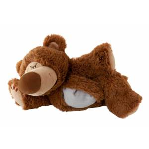Warmies sömnbjörn brun värmedjur