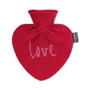 Fashy värmeflaska Love - 0,7 l hjärtform