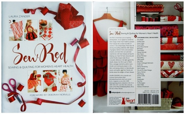 Sew Red - Beautiful Cover Pages