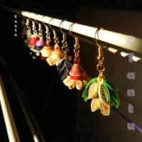 Paper Quilled Earhangings