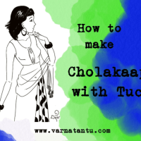 Blouse fitting - Cholakaapta with Tucks