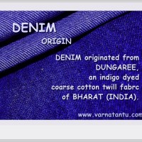 Denim Originiated in India!