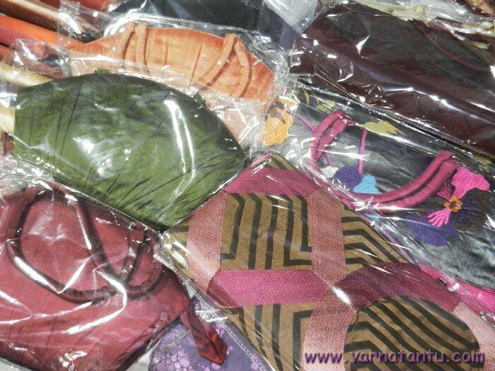 silk handbags from tantusilk
