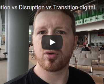Uberisation vs Disruption vs Transition digitale… Bullshit ?…