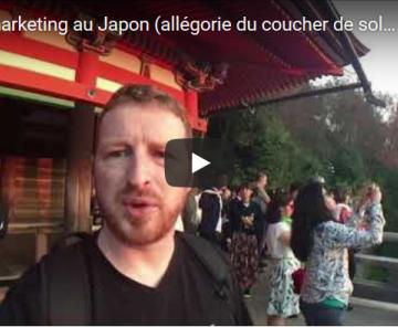 Le webmarketing au Japon (allégorie du coucher de soleil)