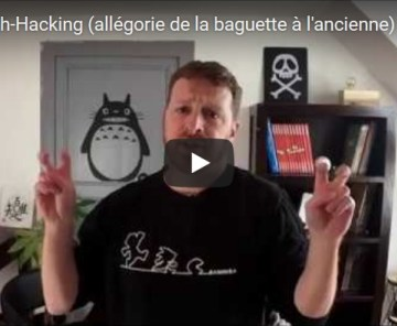 Le Growth-Hacking (allégorie de la baguette à l'ancienne)