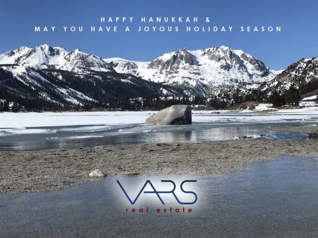 vars real estate holiday card 2019, june lake ca
