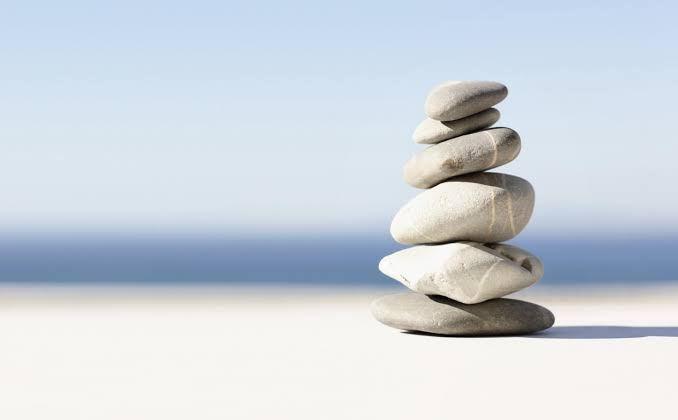 perfect balance of life