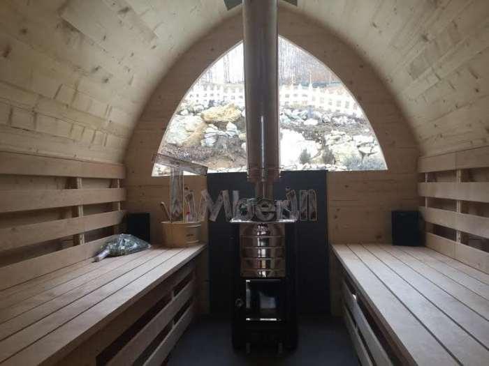 Sauna Giardino Igloo Abete Siberiano, Mauro, VERONA, Italia (2)