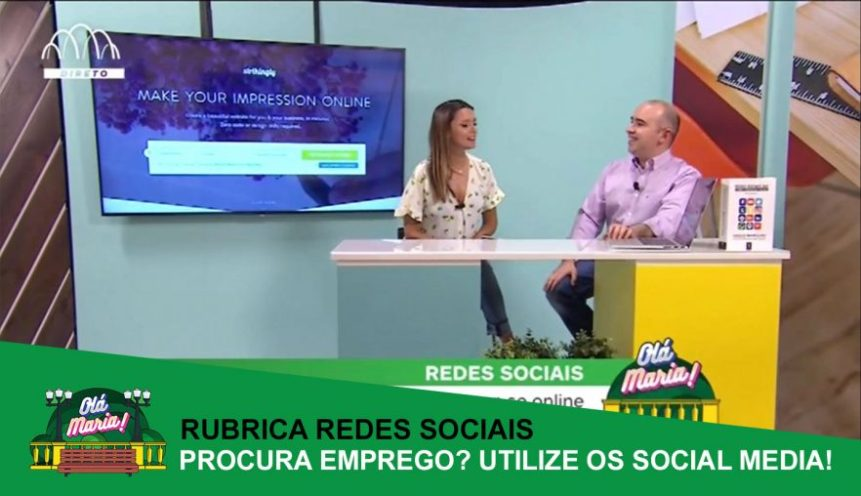 procurar emprego com ajuda dos social media vasco marques porto canal