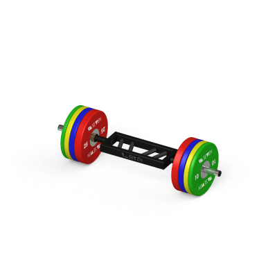 Curl Bar Football Plates