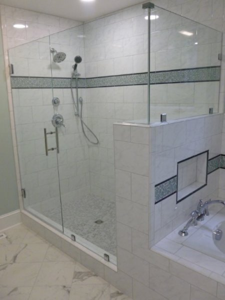 Frameless Glass Shower Enclosure Midlothian Va Virginia Shower - Bathroom remodeling midlothian va