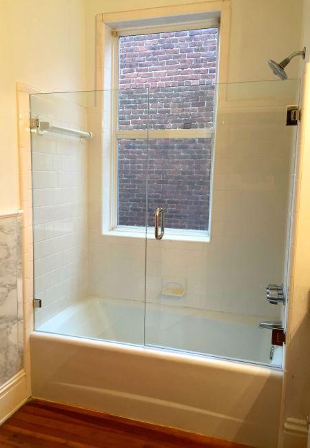 Frameless  Tub Shower Door Fan District / Richmond Va