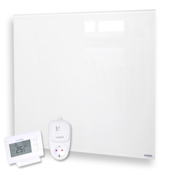 Infrarot Glasheizkörper mit Thermostat