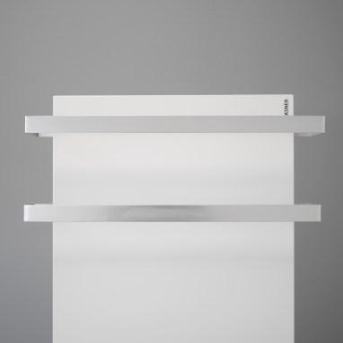 Infrarot Heizplatte mit praktischen Handtuchwärmern