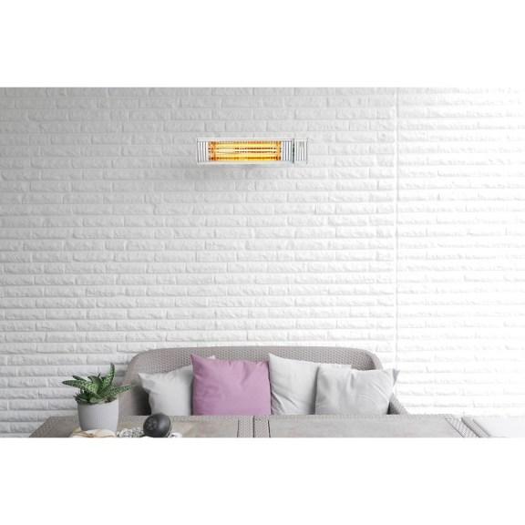 Wintergarten - Appino 20 Infrarot-Heizstrahler in weiß