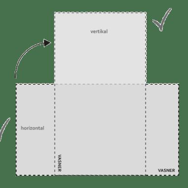 Infrarotheizung im Rund-Design kann senkrecht und waagerecht montiert werden