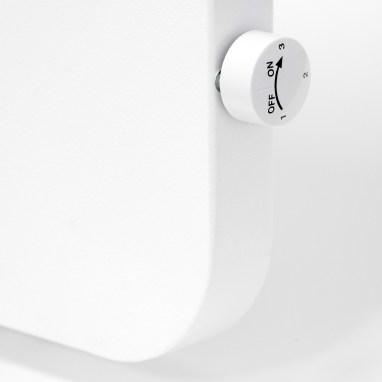 Eingebauter Thermostatregler der Konvi Plus Hybrid-Infrarotheizung