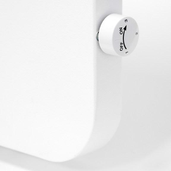Infrarot Hybridheizung mit Thermostat Drehregler