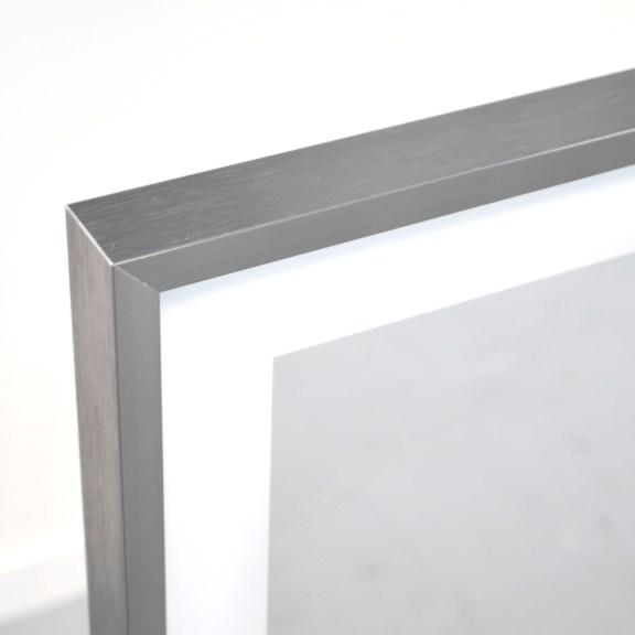 Zipris S LED satinierter Lichtbereich