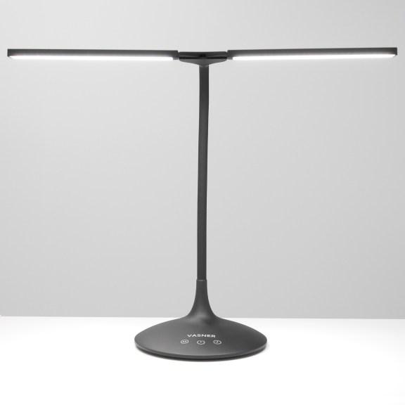 VASNER-Splitty-black-LED-Schreibtischleuchte-front-5