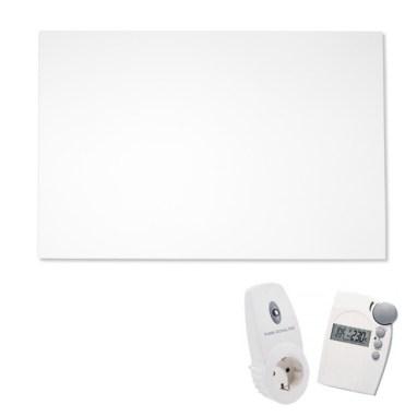 Dank programmierbarem Thermostat ermöglichen VASNER Infrarotheizungen effizientes Heizen