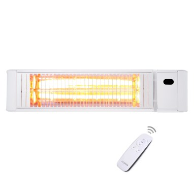 The new outdoor infrared heater in white
