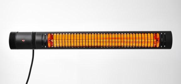 Electric infrared heater VASNER SlimLine X20 black