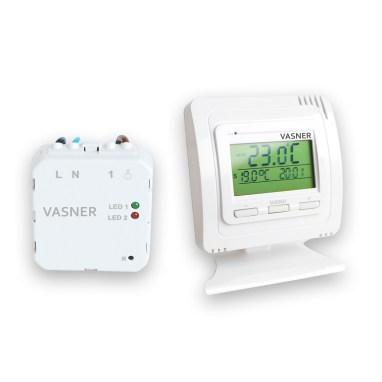 Infrarotheizkörper unauffällig steuern mit Unterputz Thermostat