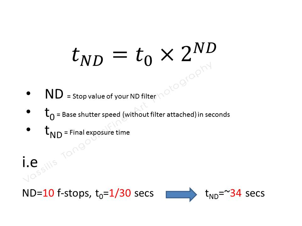 A complete guide about calculating exposure times in Long