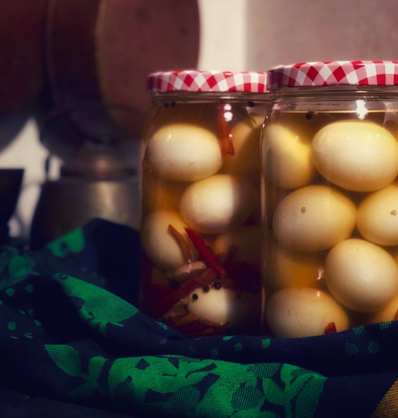 Etikkamunat - Pickled Eggs