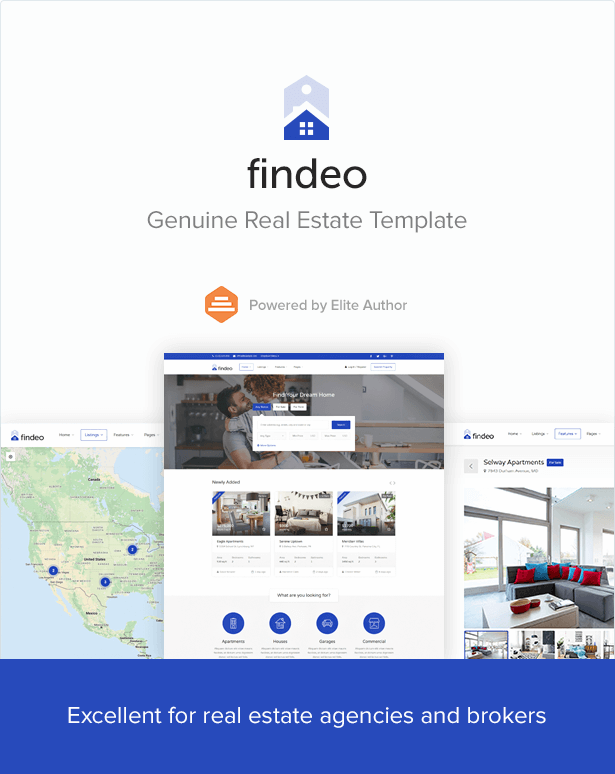 Findeo - Real Estate HTML Template - 3