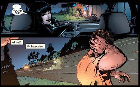 Jennifer conduciendo a lo Arteche