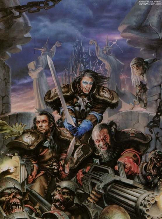 Wolfbanes Imperiales para el juego de Mutant Chronicles.