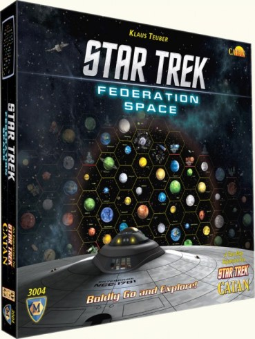 Star Trek Federation Map Set