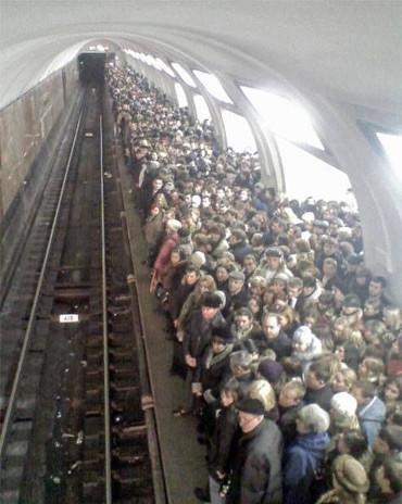 Estación de Atocha un viernes a las 3 de la tarde