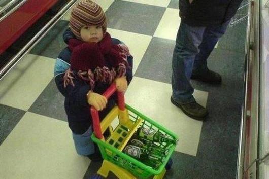 Mamis que dejan que sus hijos sean unos borrachuzos
