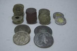 Las monedicas del Set Elemental