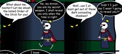 ¿Qué temible monstruo se esconde detrás de las sombras?