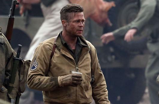 Chicas y chicos saracas, alegraos porque sale Brad Pitt