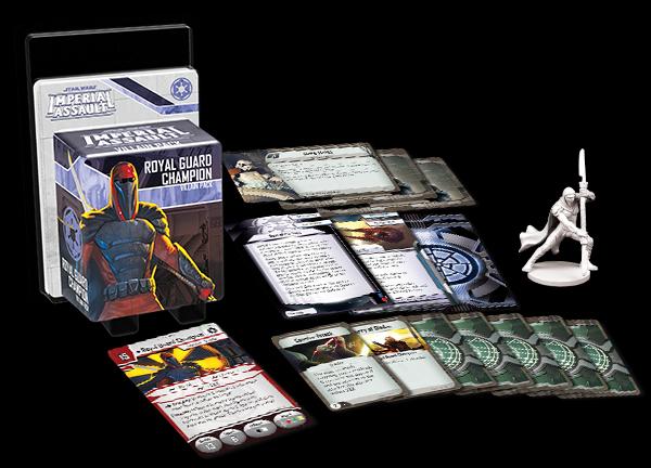 Royal Guard Champion Villain Pack