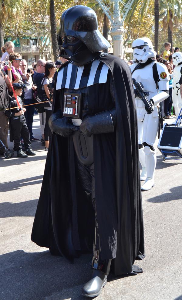 Darth Vader ,,,no hay que decir nada mas.