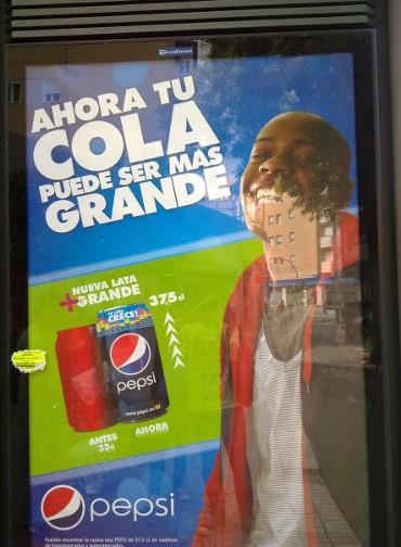 Bebe Pepsi y te crecerá el rabo