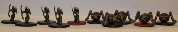 Goblins y arañas.