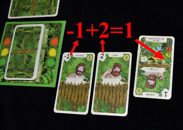 Tenemos que alcanzar el valor de peligro sacando cartas.