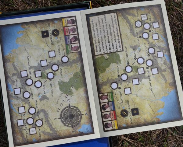 Dos tipos de mapa para dos modos de juego.