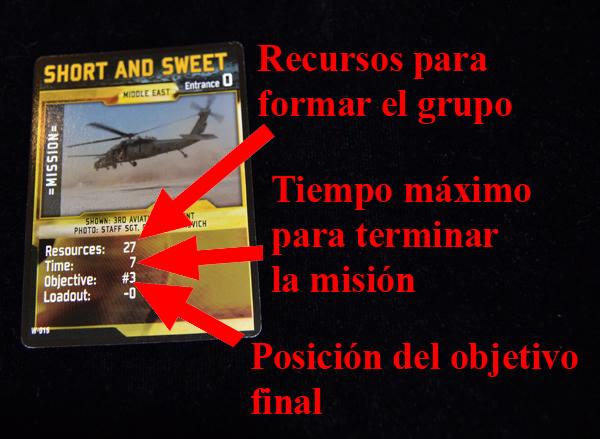 La carta de misión.